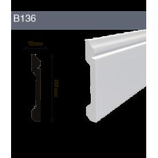 Напольный плинтус B136