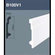 Напольный плинтус B100V1