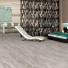 паркетная доска Barlinek PICCOLO Ясень PLATINIUM 1-на полосная матовый лак, серый